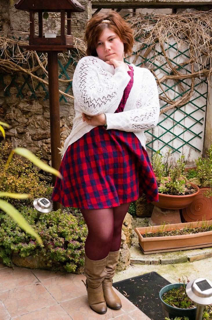 Ninaah Bulles, robe rouge, crochet, newlook, grande taille, primark, plus size blog