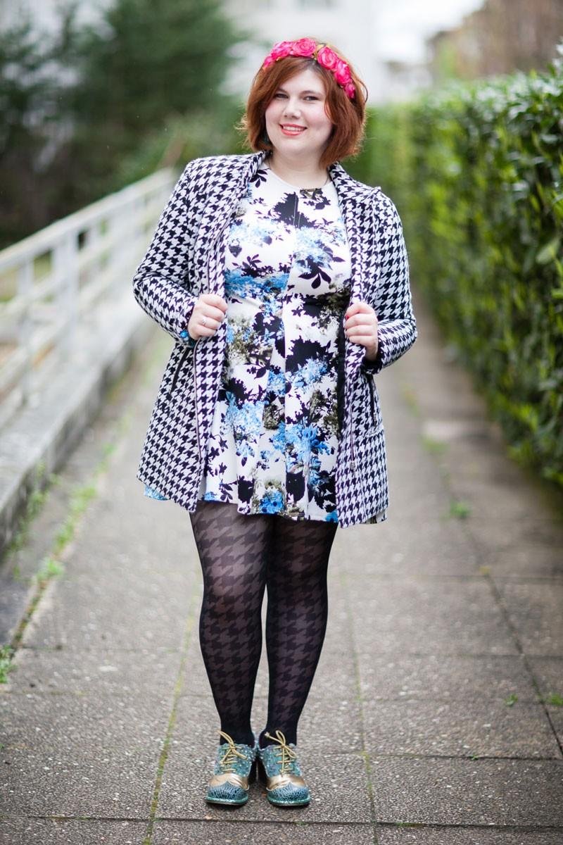 Ninaah Bulles, primark, robe néoprène, grande taille, mode, plussize