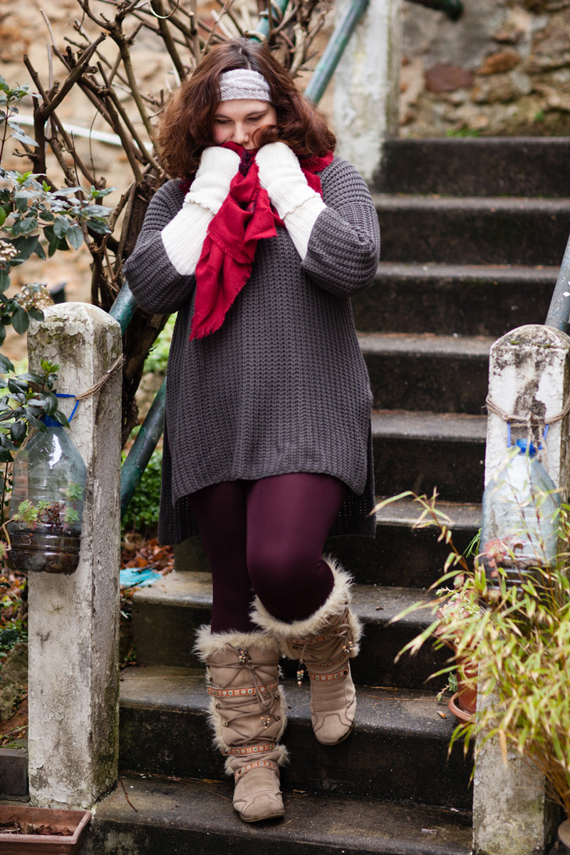 pull, ronde, mode, ninaah bulles, cocooning, grande taille, warm and cosy