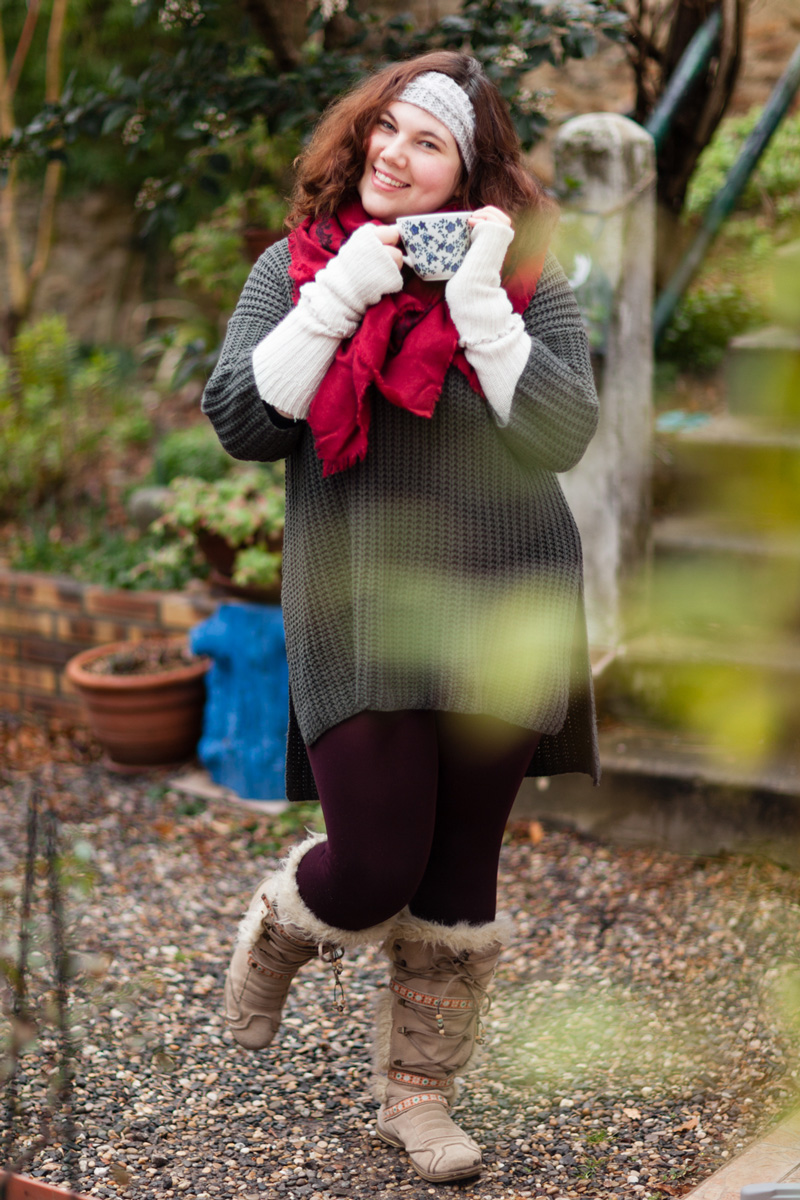 pull, ninaah bulles, cocooning, grande taille, warm and cosy