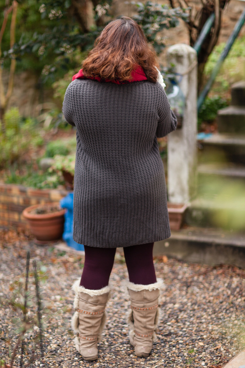 pull, ninaah bulles, cocooning, grande taille, ronde, mode, warm and cosy