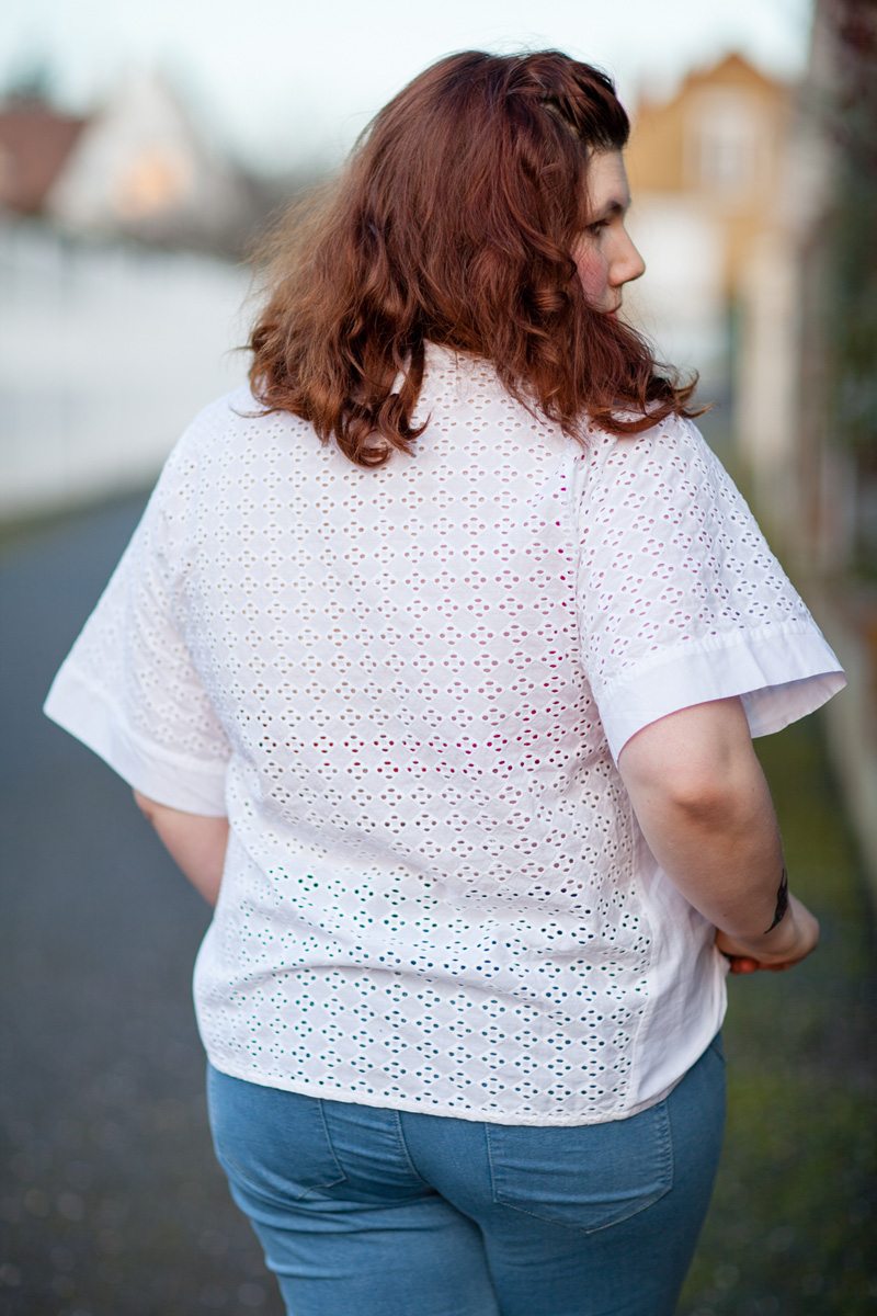 ninaah bulles, grande taille, ronde, mode, broderie anglaise, balsamik