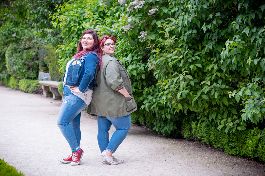 Ninaah Bulles, Big or not to big, grande taille, tandem, look, kiabi, jean, denim