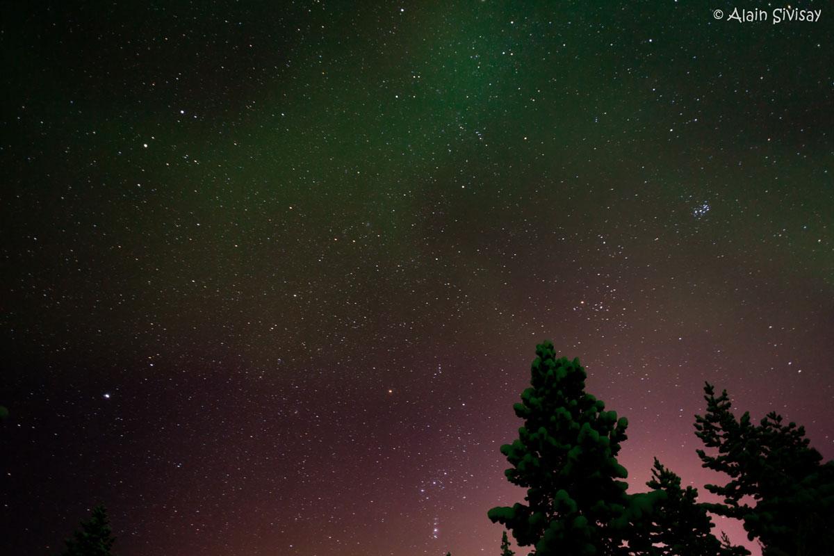 Voyage, Laponie, étoiles, aurora borealis, photo, aventure, rêve, finlande, découverte, Alain Sivisay, Ninaah Bulles, blog voyage