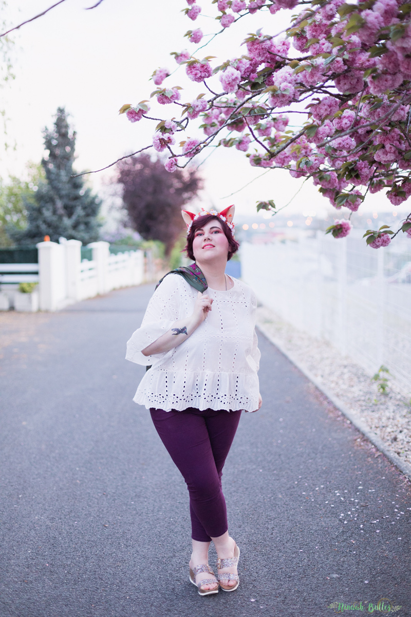 shein plus, shein grande taille, plussize, ninaah bulles, look, mode, outfit, broderie anglaise