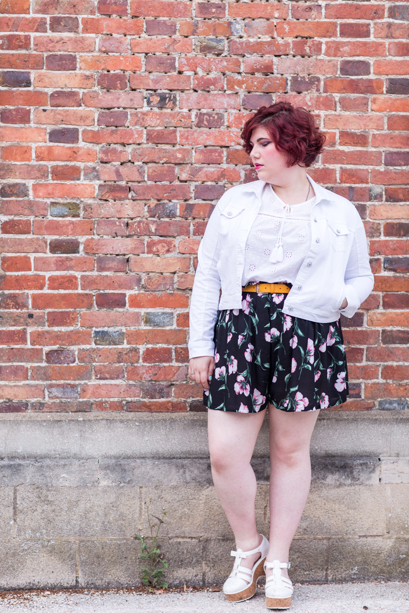 Ninaah Bulles, mode, look, jupe culotte, givenchy, gain de malice, shein, grande taille, ronde, curvy, blogeuse