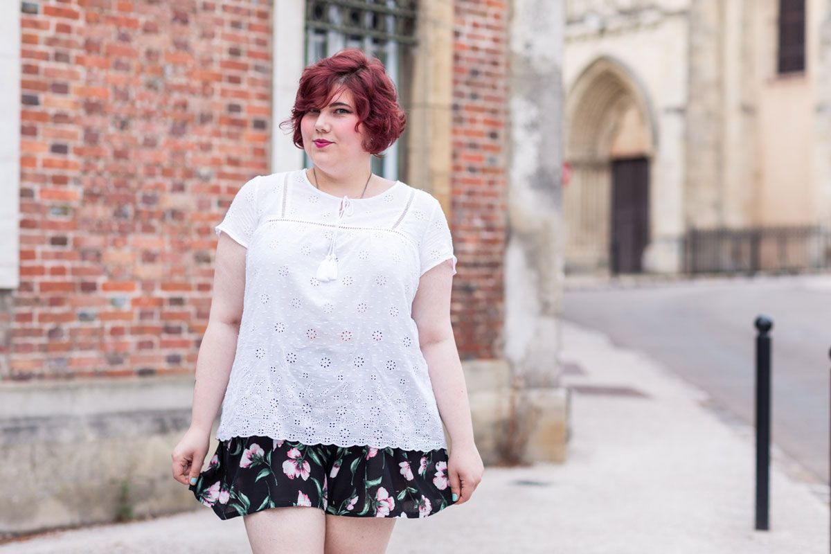 Ninaah Bulles, mode, look, jupe culotte, givenchy, gain de malice, shein,plus, plus size, grande taille, ronde, curvy, blogeuse
