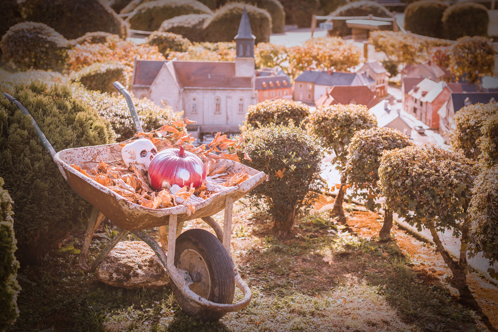 Ninaah Bulles, visite, lifestyle, halloween France miniature, voyage, France, sortie, paris, ile de france
