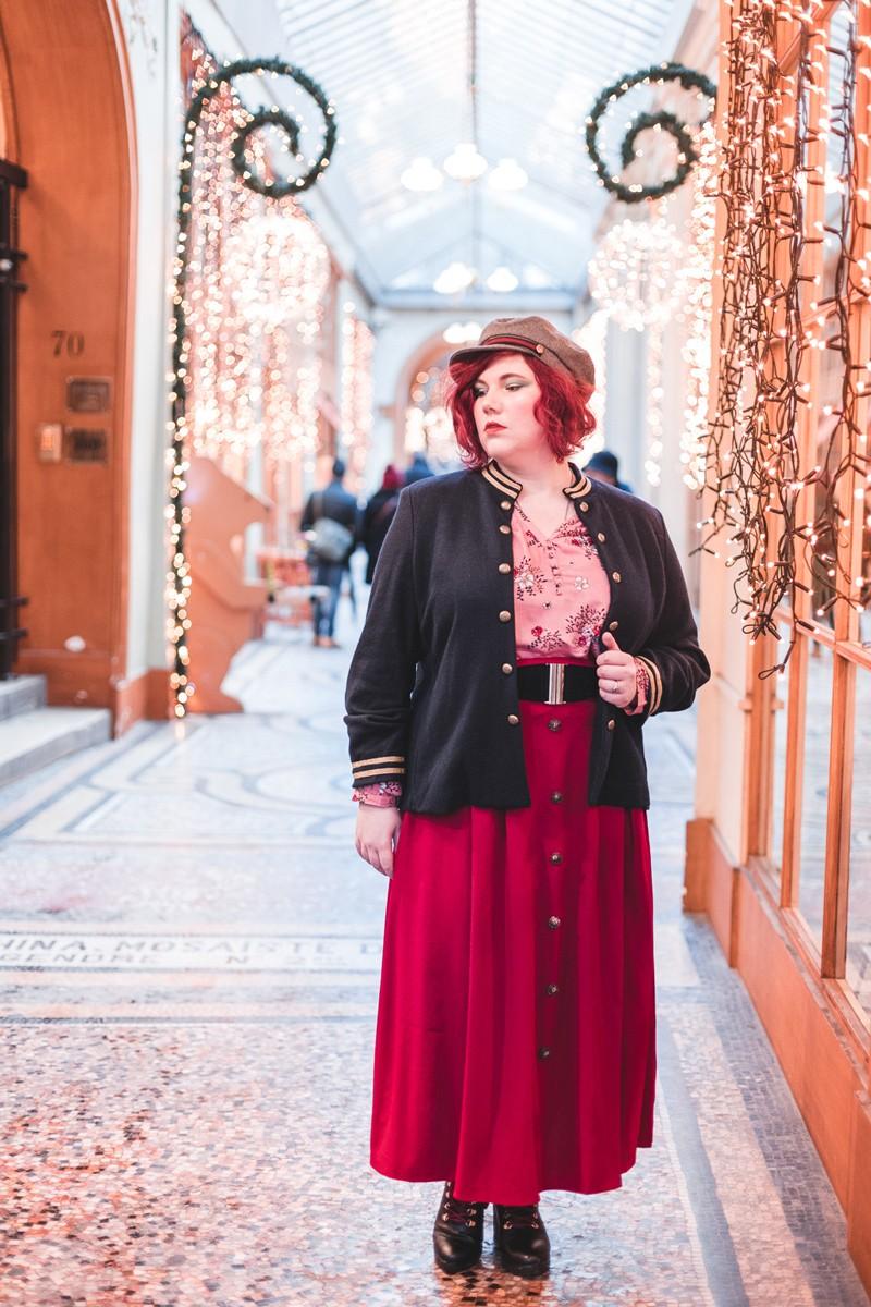 Ninaah Bulles, Casse-Noisette, look, elvi, shein, plussize, grande taille, mode, noel, paris, lumiere, makeup, christmas