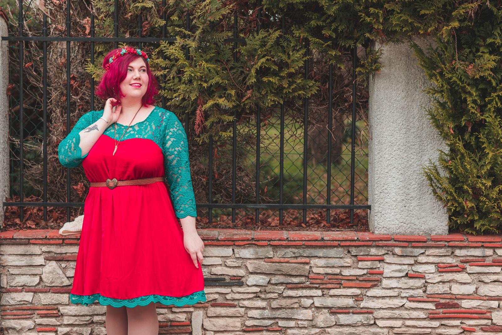 ninaah bulles, couture, couturette, grande taille patron diy, fait main, réveillon, robe