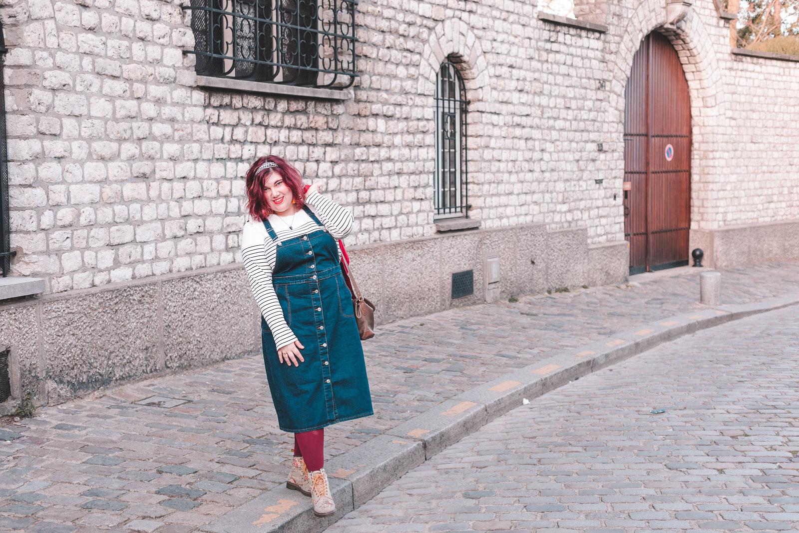 Ninaah Bulles, grande taille, blog, mode, beauté, plus size, shein, salopette, robe, veste, paris, marinière