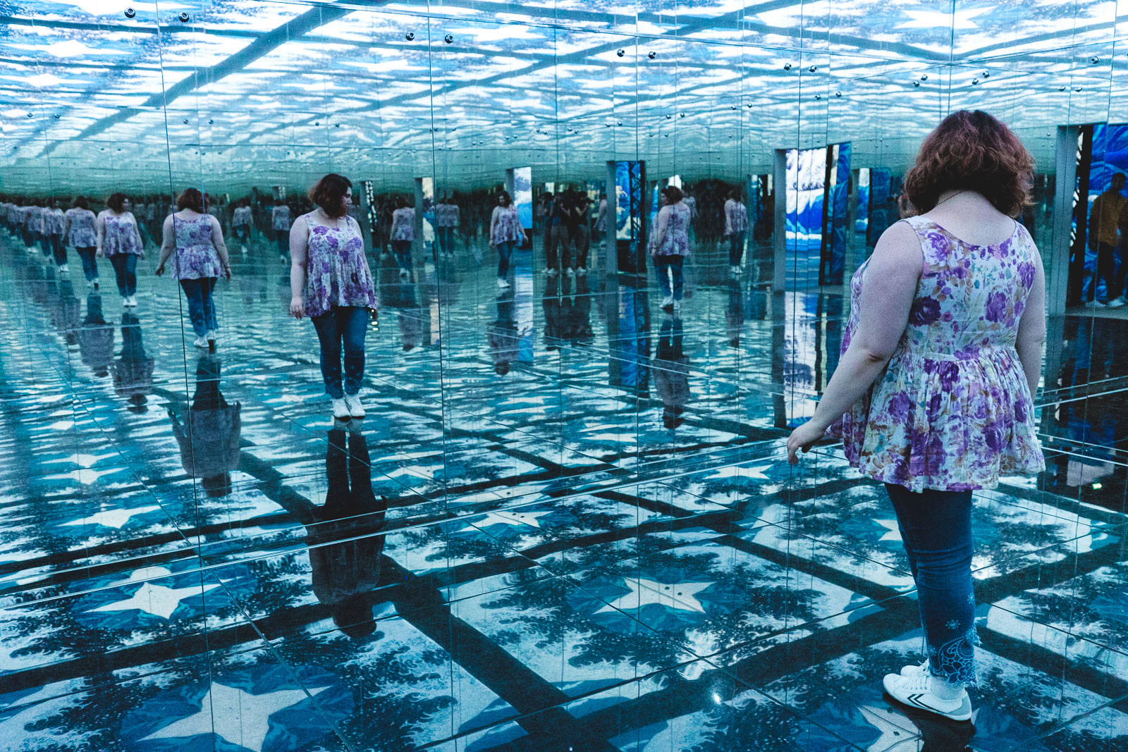 Le Japon rêvé à l'Atelier des lumières, ninaah bulles, exposition