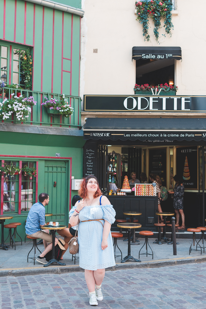 broderie anglaise; Paris, ôdette, shein plussize, grande taille, look, ninaah bulles