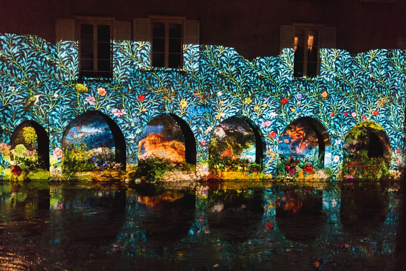 Chartres, Chartes expérience, Chartres en lumiere, ninaah bulles, blog voyage