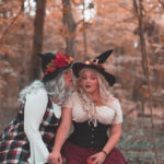 ninaah bulles, sorcières, duo, grande taille, dresslily, carnet d'alice, halloween