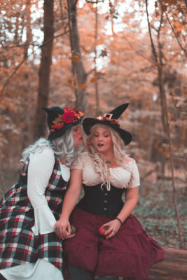 ninaah bulles, sorcières, duo, grande taille, dresslily, carnet d'alice, halloween