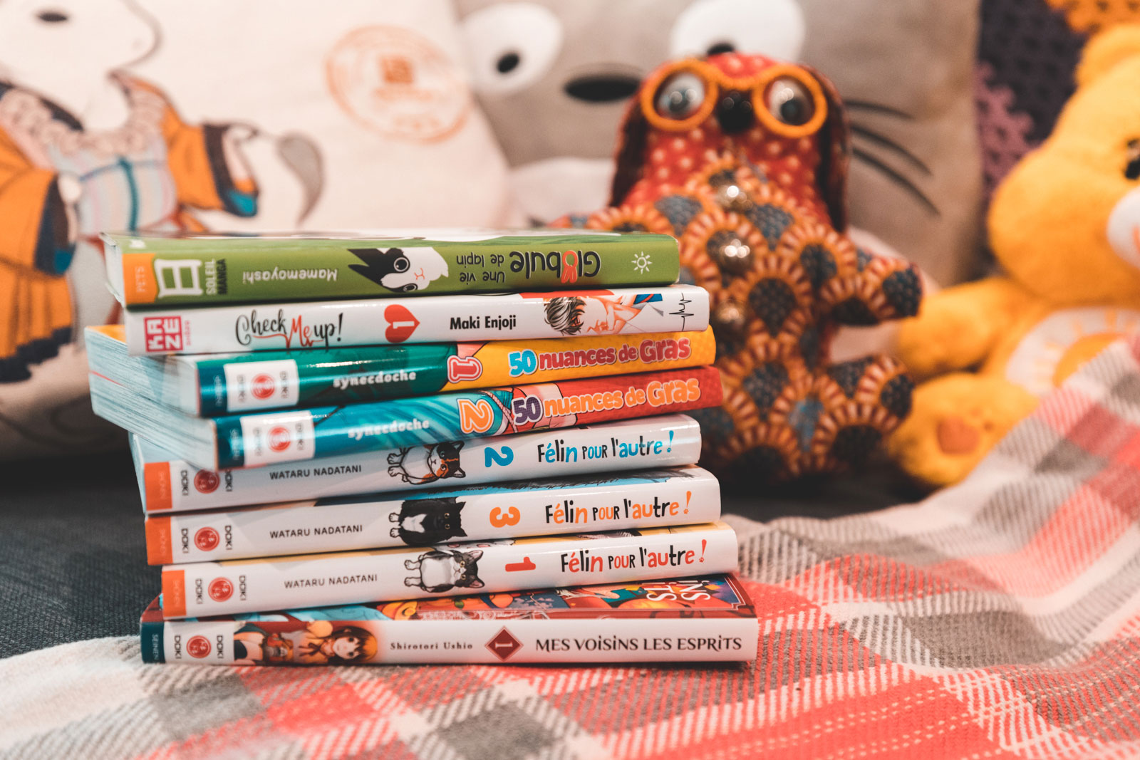 pile à lire, livre, lecture, selection livre, manga, roman, body positive, ninaah bulles