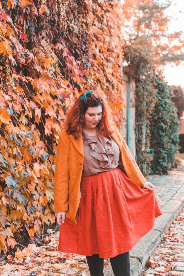 couture, plus size, grande taille, diy, mode, ninaah bulles, automne, paris, lin, corée du sud